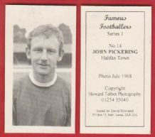 Halifax Town John Pickering